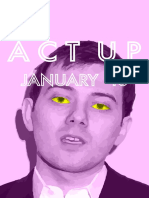 Act Up London Newsletter January