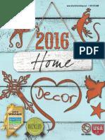 2016 Home Decor Catalog