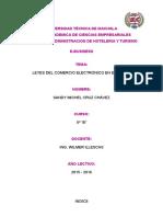 Leyes Del Comercio Electronico en Ecuador