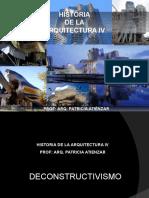 Deconstructivismo Arquitectonico