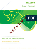Student Workbookbudgeting