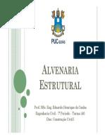 Aula 13 - Alvenaria Estrutural
