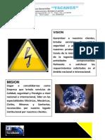 Brochure de Ricardo Tacanga