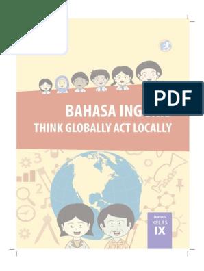Buku Pegangan Siswa Bahasa Inggris Smp Kelas 9 Kurikulum 2013 Bahasa Indonesia Bahasa Inggris