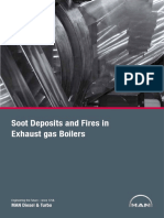 Soot Deposits and Fires in Exhaust Gas Boilers