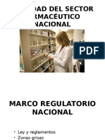 Realidad Del Sector Farmacéutico Nacional