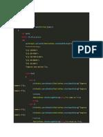 Codigo en Java Calculadora