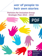 Partners for Inclusion Strategic Plan 2015 - 2018 (1)