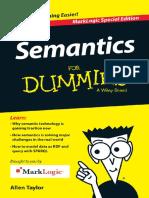 Semantics for Dummies
