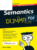 Semantics for Dummies