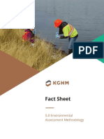 Ajax Mine Environmental Assessment Methodology Fact Sheet