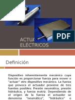 CAP II Actuadores Electricos