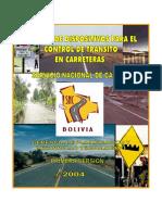 Manual de Señalizacion de carreteras - Servicio Nacional de Caminos (Bolivia)