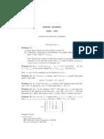 Lista 2 de álgebra linear