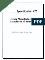 CMAA Specification 70 2000