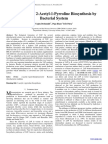 Mechanism of 2-Acetyl-1-Pyrroline Biosynthesis by Bacterial System
