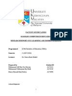 report computer in education e-learning and mobile learning