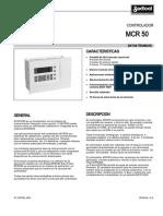 Manual MCR 50