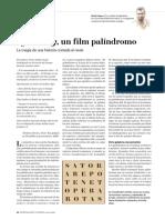 Symmetry, un film palíndromo