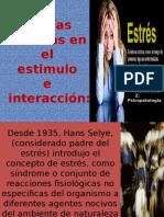 Teorías Basadas en El Estimulo e Interaccion Ante El Estres