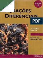 Equações Diferenciais - Dennis G. Zill, Vol 01