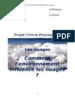 Projet Chimie Physique Du Quotidien 1