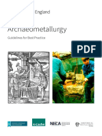 New Archaeometallurgy Guidelines