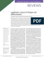 Epigenetic Control of T‑Helper‑Cell