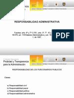 Responsabilidad Administrativa - Patricio Latorre