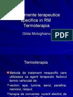 Termoterapia in Reabilitarea Medicala