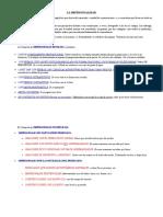 Impersonalidad, Morfemas y Sub. Adverbial