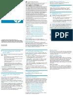 HP ProLiant Server Setup Poster