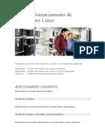 Guia de Gerenciamento de Usuários No Linux