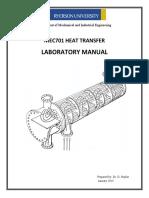 MEC701 Lab Manual W2016