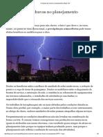 O Impacto Das Chuvas No Planejamento _ Blogs Pini