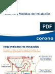 Sistema y Medidas de Instalacion (Corona)
