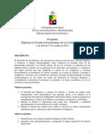 Programa Diploma de Extension en Estudios Documentales de La Colonia Chilena (1)
