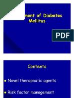 Treatment of DM