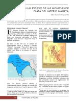 Introduccion Al Estudio de Las Monedas de Plata Del Imperio