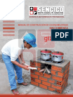 Manual de ConstruciÓn de Cocina Mejorada Sin Chimenea