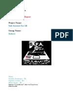 Kahoot Report