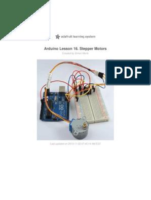 Adafruit Arduino Lesson 16 Stepper Motors | Arduino