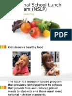 national school lunch program  nslp