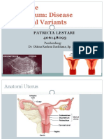 imaging normal dan kelainan endometrium