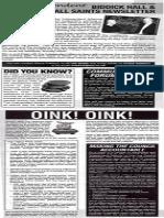 Biddick Hall newsletter autumn 2009