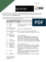 HST3000 Dual Call Bert QC
