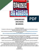 Comunicado Afectados Bb Serveis