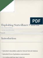 US 13 Heffner Exploiting Network Surveillance Cameras Like a Hollywood Hacker Slides