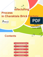 Brick Manufacturing Process
