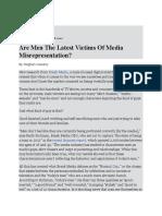 The Misrepresentation of Males in Media